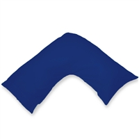 500 Pure Cotton Boomerang V-shape Pillowcase