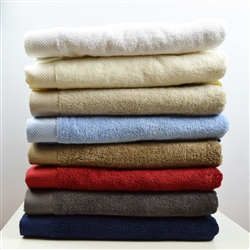 Air Twist Yarn Towel Bath Sheets x 2