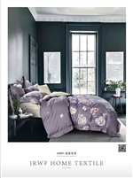 Luxury Printed Pure Cotton Quilt Cover Set- Dream