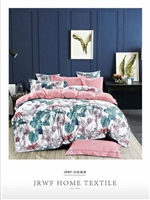 Luxury Printed Pure Cotton Quilt Cover Set- Symphony