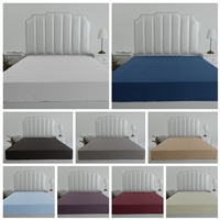 1000TC Pure Cotton Sateen Fitted Sheets