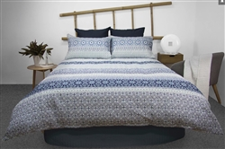 Midnight Quilted Printed Quilt Cover