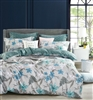 Luxury printed cotton quilt cover set - CLAIRE
