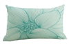 In bloom #1 mint cushion 30x50cm