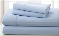 1200TC CVC Cotton Rich Stripe Bedding Sheet Sets