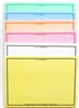 SIX-COLOR Set of VIS-IT™  Big Idea Post-it™ Set