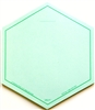 VIS-IT™ Green Hexagons Pad