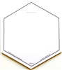 VIS-IT™ White Hexagons Pad