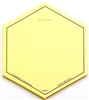 VIS-IT™ Yellow Hexagons Pad