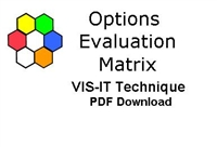 The VIS-IT™ Options Evaluation Matrix Technique