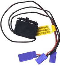 Airtronics Standard Switch Harness With Charge Plug