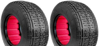 AKA Rebar SC Tires-Soft With Red Inserts (2)