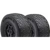 AKA Handlebar Std SC Clay Tires On Losi SCTE Black Rims (2)