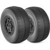 AKA Impact SC Wide Soft Tires On Black Losi Offset Rims(2)