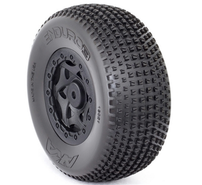 AKA Enduro 3 Wide SC Tires, Soft, For SC10 4x4 (2)