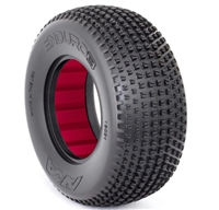 AKA Enduro 3 Wide SC Super Soft Tires With Red Inserts (2)