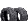 AKA 1/10 Buggy Rear Handlebar Tires, Clay (2)