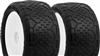 AKA 1/10 Buggy Rear Handlebar Tire On White Rim, Super Soft (2)