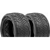 AKA 1/10 Buggy Rear Handlebar Std Tires, Clay (2)