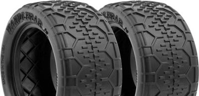 AKA 1/10 Buggy Rear Handlebar Std Tires, Super Soft (2)
