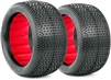 AKA 1/10 Buggy Evo Rear Impact Tires, W/Inserts Super Soft(2)