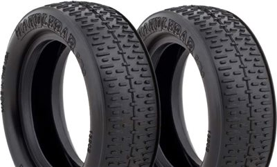 AKA 1/10 2wd Buggy Front Handlebar Tires, Super Soft (2)