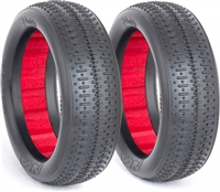 AKA 1/10 Buggy Evo Pinstripe 2wd Front Tires, Soft (2)
