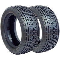 AKA 1/10 Buggy 4wd Front Rebar Tires, Super Soft (2)