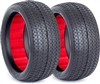 AKA 1/10 Buggy Evo Pinstripe 4wd Front Tires, Super Soft (2)