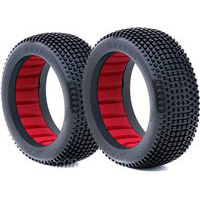 AKA Enduro 1/8 Buggy Soft Tires With Red Inserts (2)