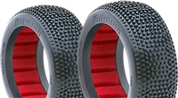 AKA Impact 1/8 Buggy Soft Tires With Red Inserts (2)