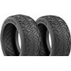 AKA Handlebar 1/8 Buggy Clay Tires (2)