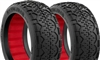 AKA Handlebar 1/8 Buggy Super Soft Tires With Red Inserts (2)