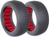AKA Catapult 1/8 Buggy Super Soft Tires With Red Inserts (2)