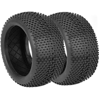 AKA I-Beam 1/8 Truggy Tires, Medium Without Inserts (2)