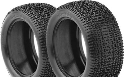 AKA City Block 1/8 Truggy Tires, Super Soft With Inserts (2)