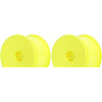 AKA 1/10th Hexlite 2wd/4wd Buggy Rear Rims, Yellow (2)