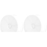 AKA TLR 22 Hexlite Buggy Front Rims, White (2)