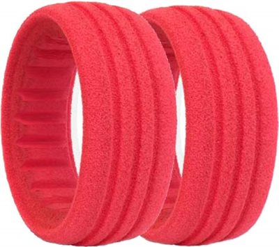 AKA 1/10 Buggy Rear Closed Cell Foam Inserts, Soft (2)