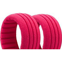 AKA Short Course Wide Closed Cell Red Foam Inserts, Soft (4)