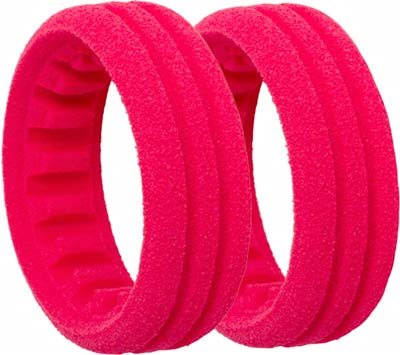 AKA 1/10 Buggy Evo 2wd Front Red Closed Cell Foam Inserts (2)