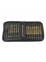 Arrowmax 23 Pcs. Electric Tool Set, Black Gold