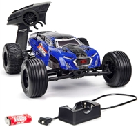 Arrma 1/10th Fazon Voltage 2wd Mega RTR Truck with Blue/Black body