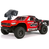 Arrma 1/10th Senton Mega Short Course Truck RTR with Red/Black Body