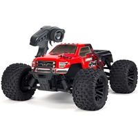 Arrma 1/10th Granite 4x4 Mega Monster Truck RTR with Red/Black Body