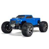 Arrma 1/10th Big Rock Crew Cab 3s Brushless RTR 4x4 Truck with blue body
