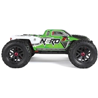 Arrma Nero 6S Brushless RTR Monster Truck, green