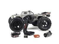 Arrma 2018 1/8th Outcast 6S Stunt Truck 4wd with Silver Body