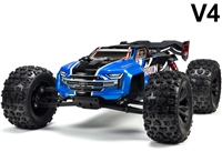Arrma 1/8th Kraton 6S BLX 4wd Brushless Speed Monster Truck RTR with blue body