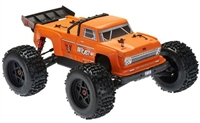 Arrma 1/8th Outcast 6S BLX 4wd Brushless Stunt Truck RTR with orange body